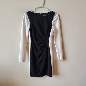 Vince Camuto Womens Long Sleeve Dress